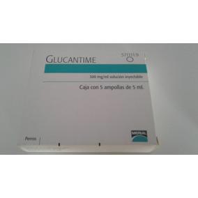 Glucantime Caixas Com 5 Ampolas Com 5 Ml Cada