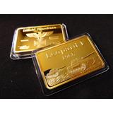 Lingote Alemania Leopard 1 Deutsche 1965 Color Oro