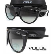 Lente Solar Gafas Vo2941s Black Micas Gray Gradient Original