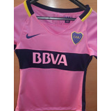 Camiseta Boca Juniors Pink Dama