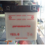 Acumulador Pila Bateria Promoto Yb3l-b Moto Honda Cg1