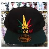 Boné Reggae Bob Marley Preto Amarelo Verde