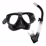 Kit Sea Sub Mascara Silicone E Respirador E Nadadeira Velox