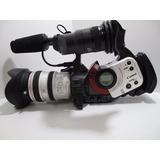 Filmadora Cânon Xl1 Lente 3x 3.4-10.2mm F/1.8-2.2 Objetiva