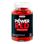 Power Red- Aumenta Libido- 1 Frasco 500mg Original Vicaz