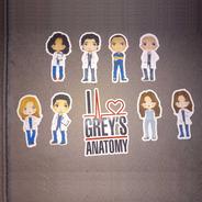 100 Tags, Topper, Apliques Para Festas - Grey's Anatomy