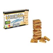 Jogo De Equilíbrio Torremoto - Brinquedo Educativo - Iob