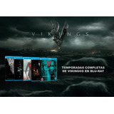 Vikings-vikingos,temporada 1-5 Bluray