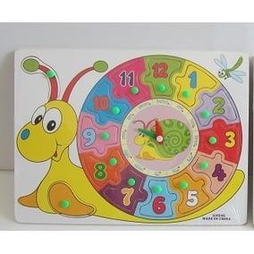 Memoria Didactica Reloj Aprendizaje Para Niños Juego