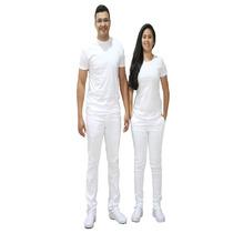 Calca Feminina Branca Bivik