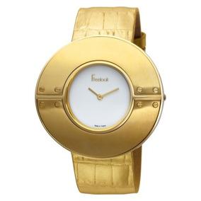 Reloj Freelook Ha8255g-3 Dorado