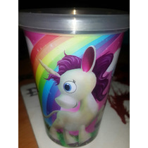 Vaso Pequeño Pony. 250 Ml.