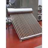 Termotanque Solar Saveco 150l Con Kit Resistencia Eléctrica