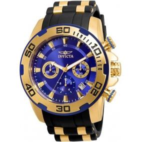 Relógio Invicta Pro Diver Fundo Azul Ref 22313