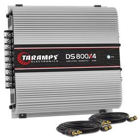 Módulo Taramps Ds800 X4 Digital Ts 800w Rms 4 Canais 2 Ohms