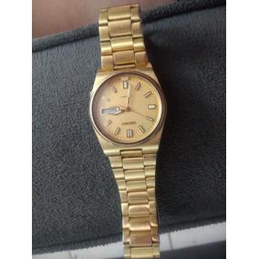 372e5c57992 Seiko 5 Dourado Fluorescente - Relógios De Pulso