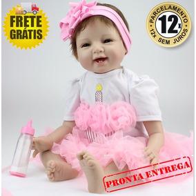 Boneca Bebê Reborn 53cm - Pronta Entrega - Produto No Brasil