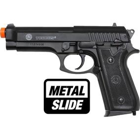 Pistola Marcadora Taurus Airsoft Pt92 Spring Metal Slide 6mm
