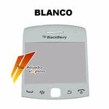 Mica Blanca De Pantalla Blackberry Bb Curve 9360 Original