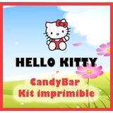 Candy Bar Kit Imprimible De Hello Kitty. Más De 50 Moldes