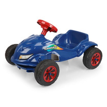 Carro A Pedal Speedplay Azul - Homeplay