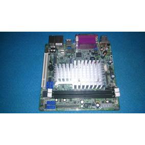 Placa Mãe Jetway-nc96fl-525lf Com Processador Átom D525 1.80