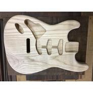Corpo Guitarra Modelo Strato Em Ash Canhoto