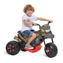 Moto Infantil Menino Elétrica Triciclo Motoca Xt3 Grafite