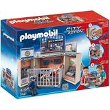 Playmobil 5421 Cofre Cuartel De Policia!!!!