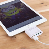 Adaptador 5 En 1 Sd Tf Usb Lector Lightning Ipad 4 Air Mini