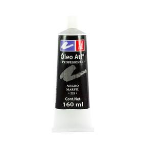 Oleo Grande 160ml Atl Pintura Pincel, Dibujo Arte
