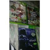 Juegos De Xbox 360 Originales Halo,fifa Y Gta San Andreas
