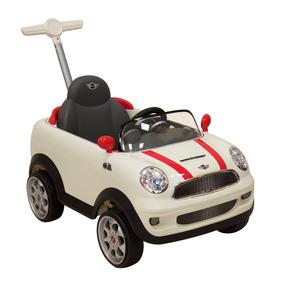 Montable Push Car Mini Cooper Blanco Prinsel