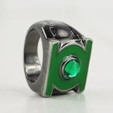Linterna Verde Añillo Metal Pulido Inperdible!!!