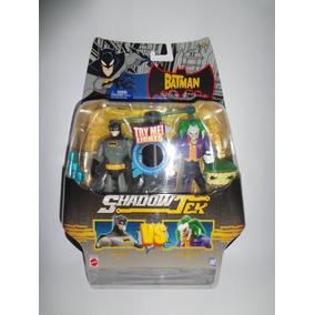 2 Bonecos Batman Vs Coringa Shadow Tek Mattel Action Figure