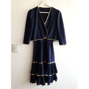 Que accesorios usar con vestido azul marino
