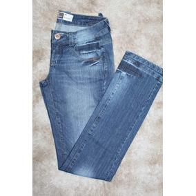 Calça Jeans Lado Avesso Tam 40 Bolso
