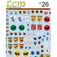 Decal Emblemas De Esquadrão Luftwaffe Fcm 1/48 Decalque Novo