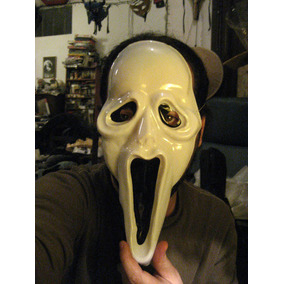 Máscara Scream, Cosplay, Horror Movie, Ghostface Killer Saw