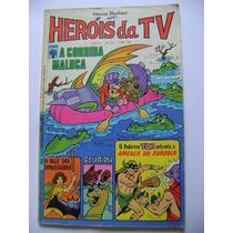 Heróis Da Tv N°21 Fev 1977 Hanna Barbera Ótimo!