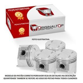 Jogo Pistao Motor C/anel Std Gol 1.0 8v Mi Ea 111 Gas. 67,11