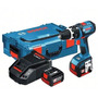 Taladro Atornillador Percutor Bosch Gsb 14.4v-li+l-boxx 2bat