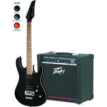 Combo Guitarra Skp 350z + Amplificador Peavey Rage 158