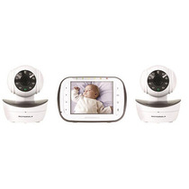Motorola Mbp43-2 Video Baby Call Doble Camara C/movimiento!