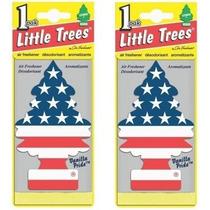 Aromatizante Little Trees Pinheirinho Bandeira Eua Americana