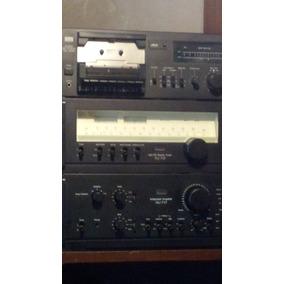 Gradiente, Sansui Ampli; Deck; Sintonizador; Torna; Bafles