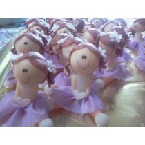 Souvenirs Primer Añito Nenas Lila X 10 Unid. Promocion