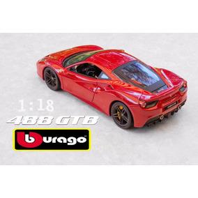 Miniatura Ferrari 488 Gtb 1/18 Pronta Entrega