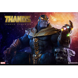 Thanos Maquette Sideshow No Hot Toys Avengers Marvel