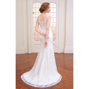 Vestido De Novia Talla 10 12 14 Modelo Delpilar Np 02
